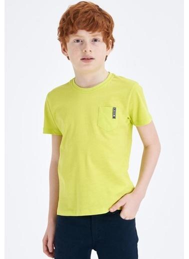 DeFacto Tişört Sarı